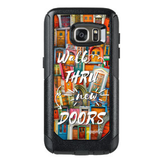 Walk Through New Doors Colorful Back To School OtterBox Samsung Galaxy S7 Case