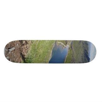 Walk To Snowdon The Highest Mountain In England An Custom Skateboard