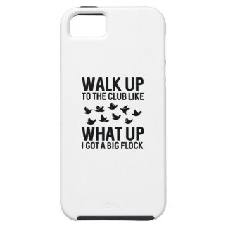 Walk Up To The Club iPhone 5 Case