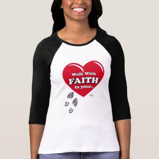 Walk with Faith & Amen T Shirt