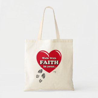 Walk with Faith Tote Bag