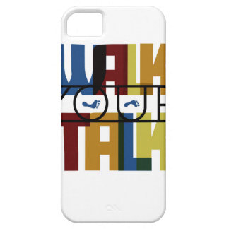 Walk Your Talk #1 Case For The iPhone 5