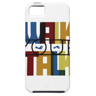 Walk Your Talk #1 iPhone 5 Case