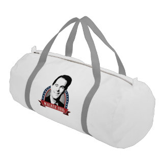 Walker 2016 Campaign Banner Nameplate Gym Duffel Bag