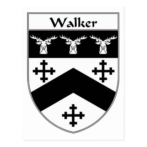Walker Coat of Arms/Family Crest Postcards