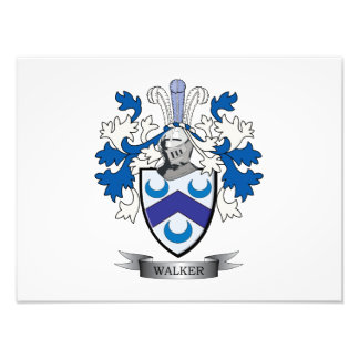 Walker Coat of Arms Photograph