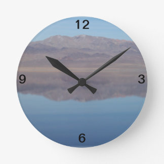 Walker Lake Mirror Image Clock