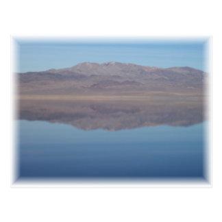 Walker Lake Mirror Image Postcard