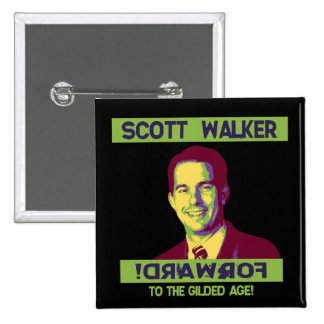 Walker, Scott - !DRAWROF 15 Cm Square Badge
