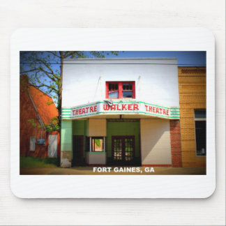 WALKER THEATRE - FORT GAINES, GEORGIA MOUSE PAD