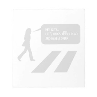 Walking Abbey Road Custom ED. Notepad