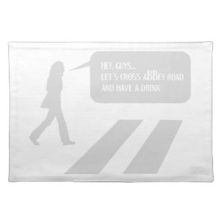 Walking Abbey Road Custom ED. Placemat