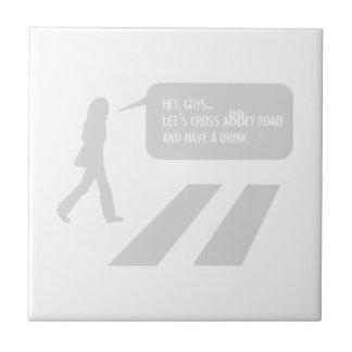 Walking Abbey Road Custom ED. Tile
