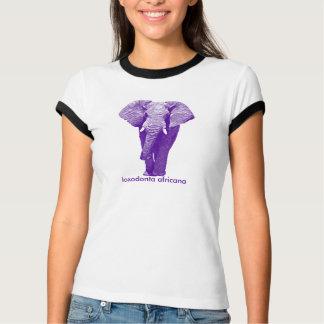 Walking African Elephant: Loxodonta Africana T-Shirt