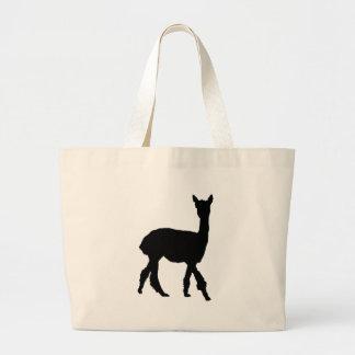 Walking Alpaca Tote Bags