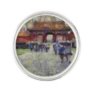 Walking around the Forbidden City Lapel Pin