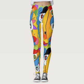 Walking Art Leggings