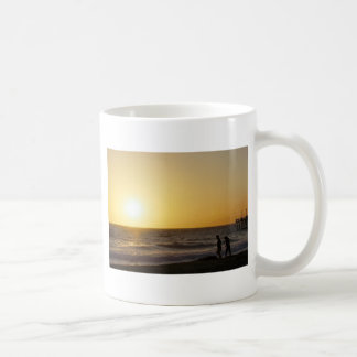 Walking at Sunset Coffee Mug