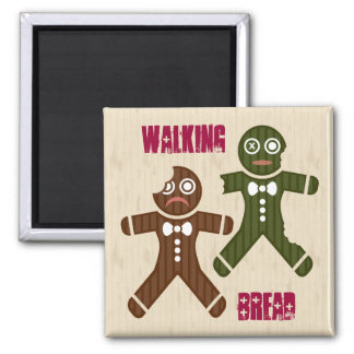 Walking Bread Magnet