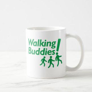 WALKING BUDDIES Motivation to Walk Basic White Mug