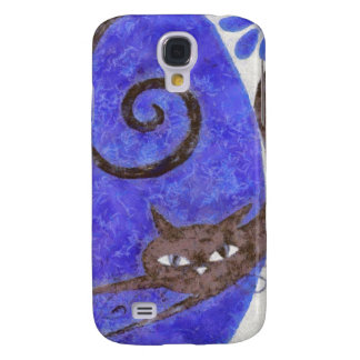 Walking Cat Galaxy S4 Case
