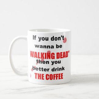 Walking dead mug