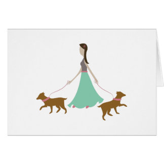 Walking Dogs Cards