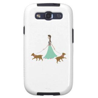 Walking Dogs Samsung Galaxy SIII Cases
