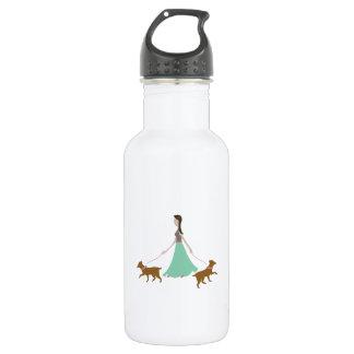 Walking Dogs 532 Ml Water Bottle