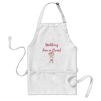 Walking For a Cure Tshirts and Gifts Standard Apron