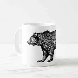 Walking Grizzly Bear Coffee Mug