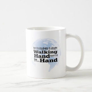 walking Hand in Hand Coffee Mug
