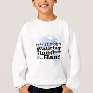 walking Hand in Hand Sweatshirt