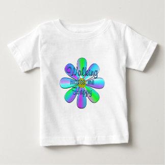 Walking Happy Baby T-Shirt