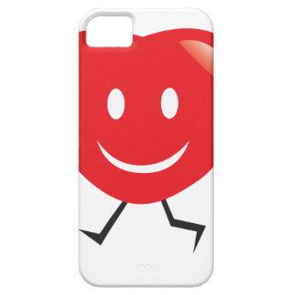 walking heart iPhone 5 case
