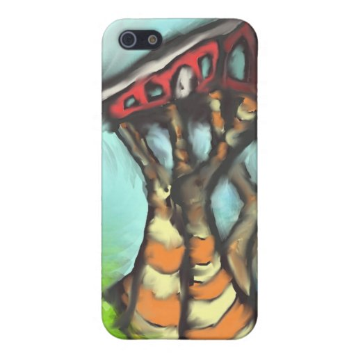 Walking home iphone case cover for iPhone 5