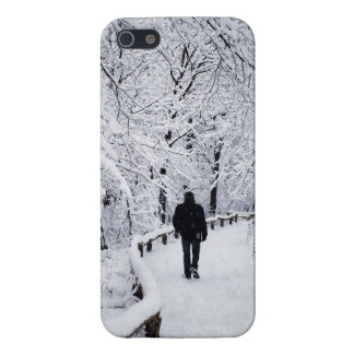 Walking In A Winter Wonderland Cover For iPhone 5/5S