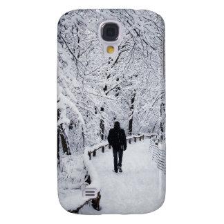 Walking In A Winter Wonderland Samsung Galaxy S4 Cases
