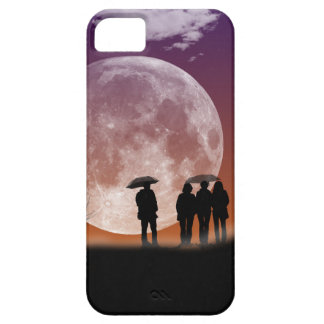 Walking in front of the moon Digital Art Case For The iPhone 5
