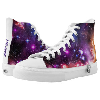 Walking in Starlight for Feeling Cool High Tops