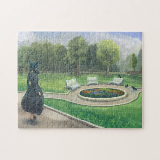 Walking in the Garden Jigsaw Puzzle