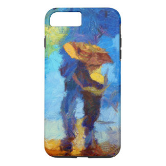 Walking in the Rain iPhone 7 Plus Tough Case