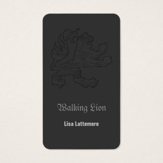 Walking Lion Card