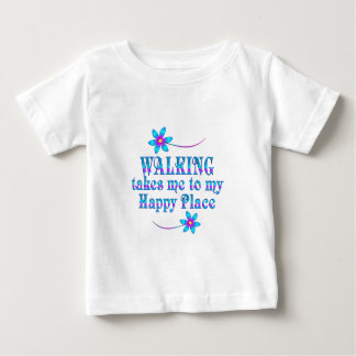 Walking My Happy Place Baby T-Shirt
