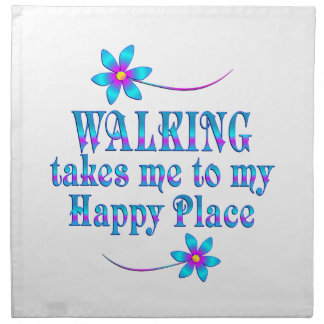 Walking My Happy Place Napkin