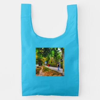 Walking on a beautiful path baggu reusable bag
