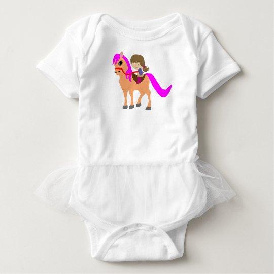 Walking on my pony baby bodysuit
