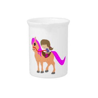 Walking on my pony pitcher