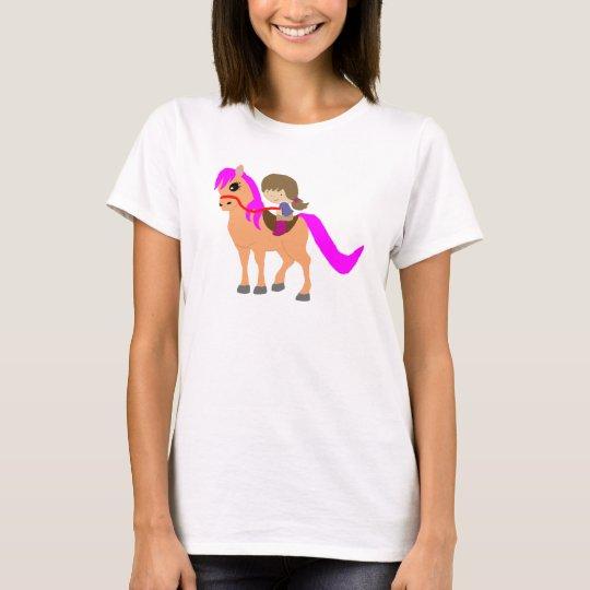 Walking on my pony T-Shirt