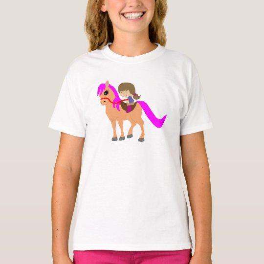 Walking on my pony T-Shirt